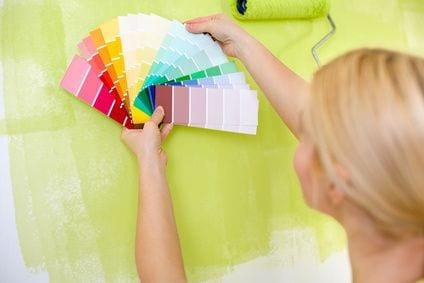 בחירת צבע לצביעת הבית