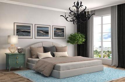 חדר שינה רומנטי