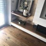 פרויקט בית בעין שריד - פינה בסלון