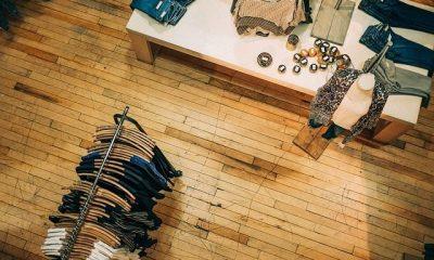 עיצוב חנות עם פרקט למינציה